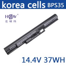 Original BPS35 Laptop Battery for SONY VAIO Fit 14E Series SONY VAIO Fit 15E Series VGP-BPS35 VGP-BPS35A Free Shipping skkt106 14e skkt106 12e skkt91 14e module