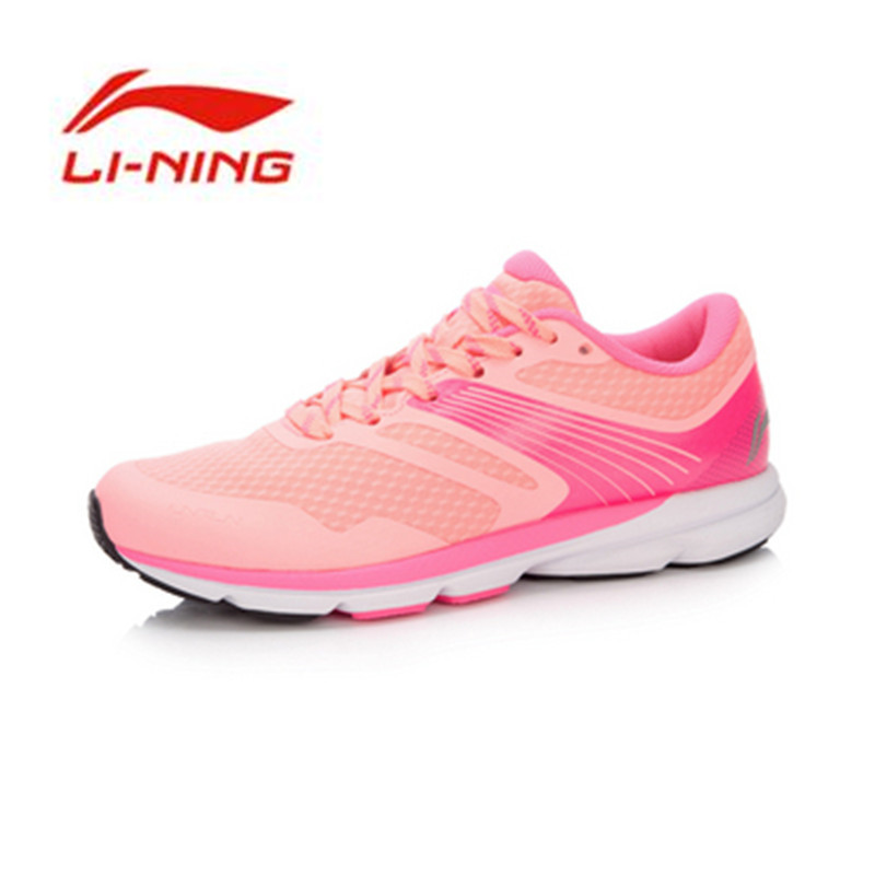 LI-NING Original Women's Rouge Rabbit 2016 Smart Running Shoes Cushioning SMART CHIP Sneakers Breathable Sports Shoes ARBK086