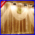 3M*3M 300 LED Party Wedding New Year Christmas Garland String Icicle Outdoor Waterfall Fairy Decoration Curtain Light CN C-38