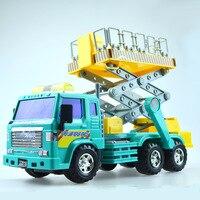 Vente chaude Simulation escalade travail Modèle De Voiture En Alliage de Transport En Plastique La Mienne Ingénierie Véhicule Modèle Toys Pour Enfant Enfants Cadeaux