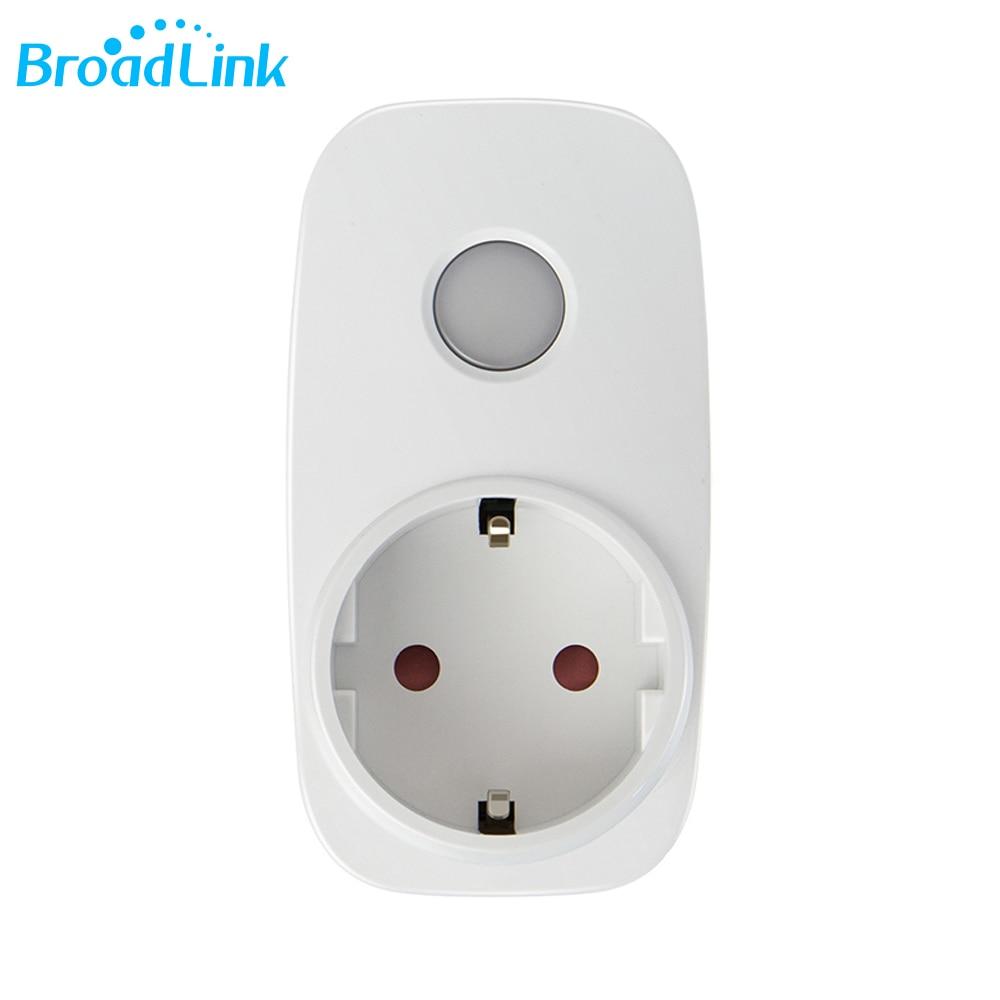 Broadlink SP3 SP3S EU Controller Pintar Nirkabel WiFi Socket Steker - Elektronik pintar