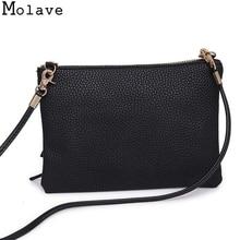Molave Handbags Woman bag 2017 Women Fashion Handbag Shoulder Bag Large Tote Ladies Purse messenger bag female bag strap Oct18