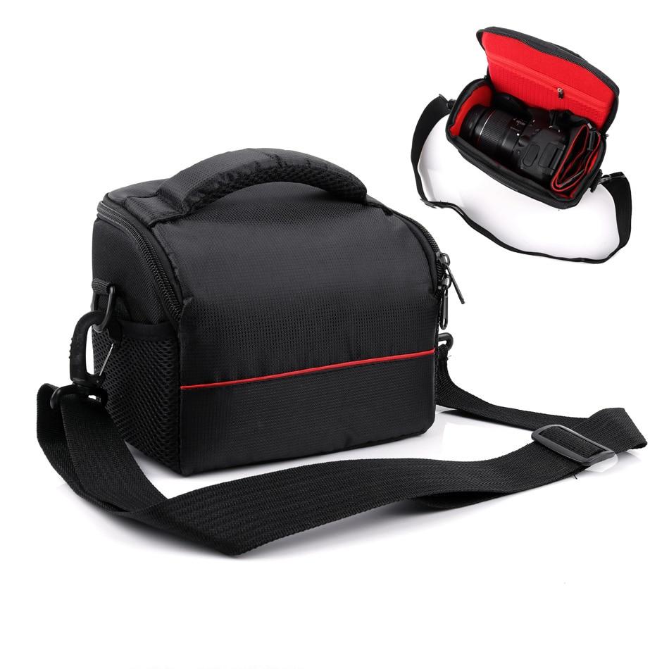 Camera Case bolsa para Nikon B700 P900 P900S D3400 D3200 D3300 para Sony Alpha NEX-5N 5C 5 t 5R A6500 a6300 A6000 A5100 A5000 HX400V