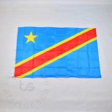 Флаг Конго 90*150 см бесплатная доставка флаг Демократической