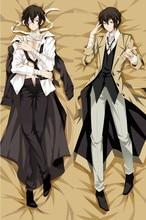 Osamu Dazai - Bungo Stray Dogs Japanese Anime Hugging Body Dakimakura Pillow Cover Case