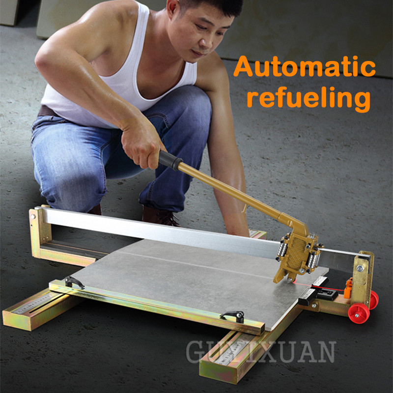 Floor Wall Tile Cutting Machine 600mm High-precision Manual Tile Cutter Tile Pusher Cutting Tool