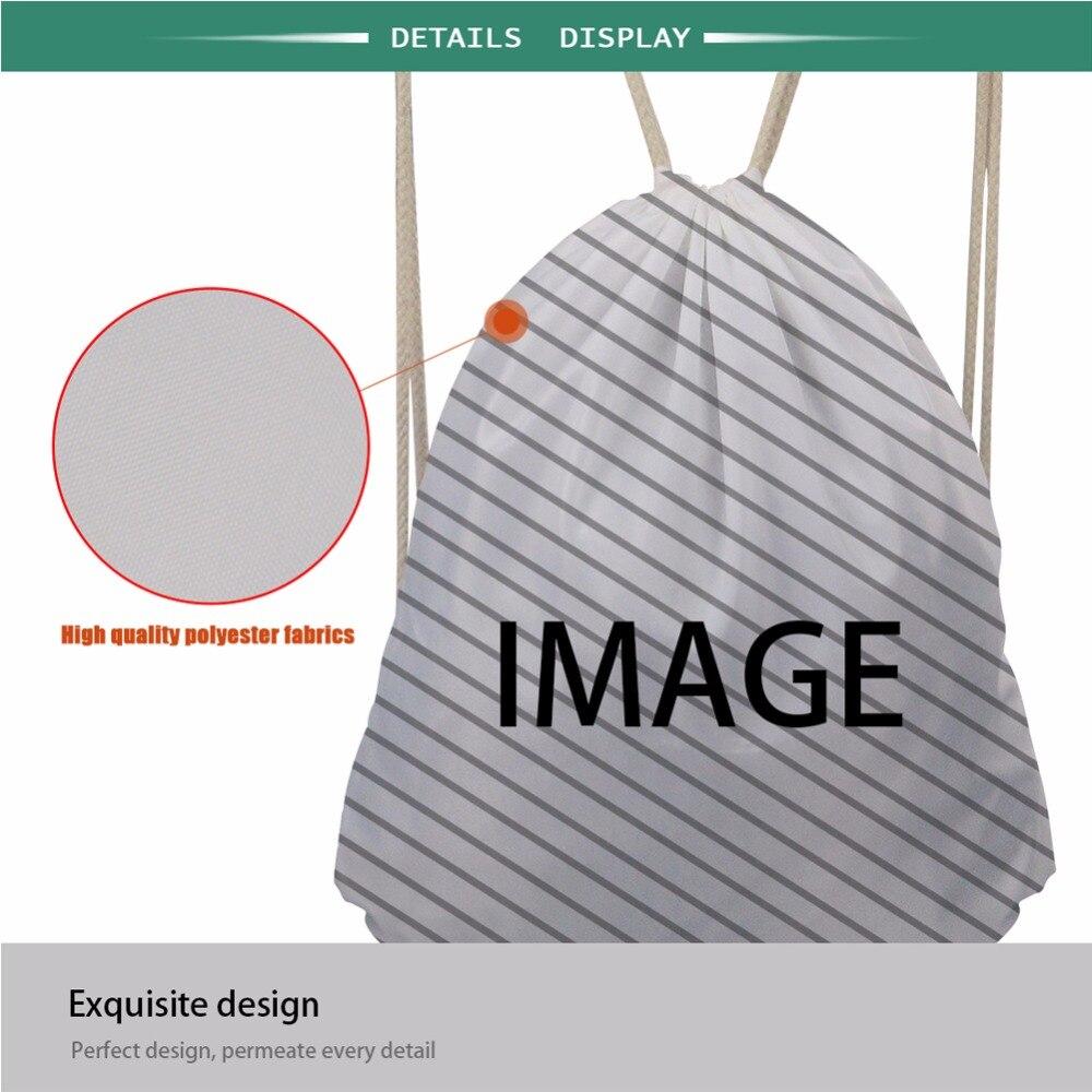 INSTANTARTS Kordelzug Rucksack Tasche Sport Gympack für Kinder Jungen Mädchen Laufschuhe Outdoor Afrikanische 3D Gedruckt Sackpack Strand Tasche