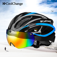 CoolChange Road Bicycle Helmet EPS Insect Net Specialized Cycling Helmet MTB Bike Integrally Molded Helmet With