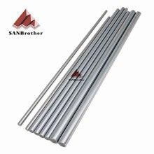 1セットultimaker 2拡張+ um2 +スムースロッドスムーズロッドセットod6mm 8ミリメートル12ミリメートル3dプリンタxyz軸クロームプレート