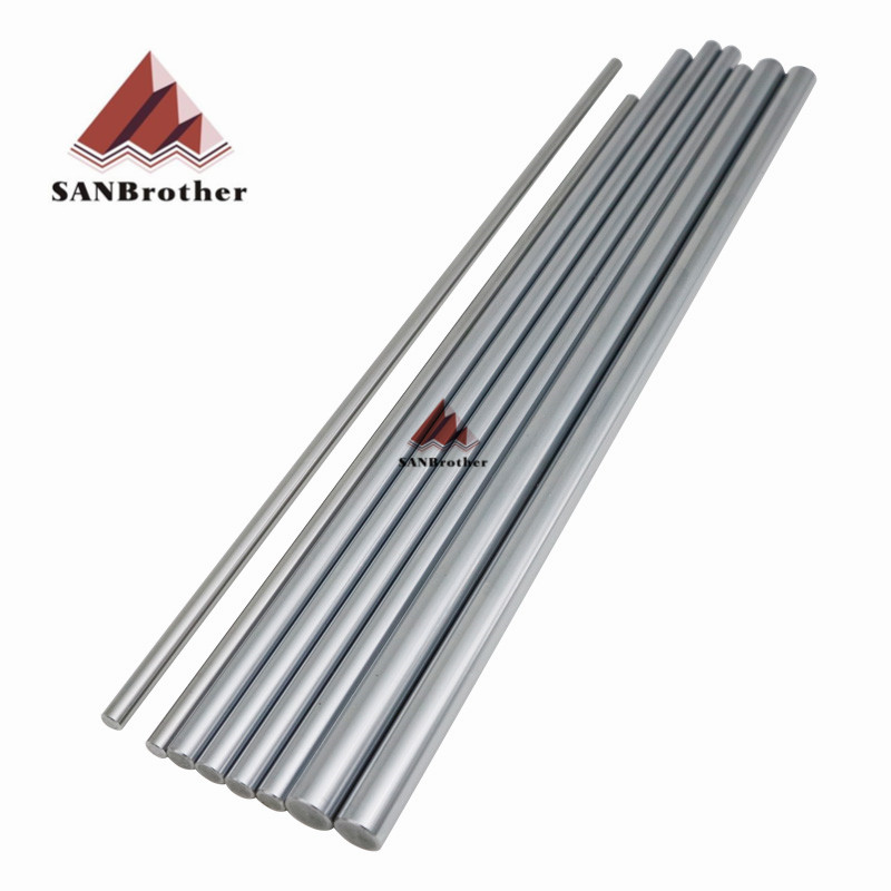 1Set Ultimaker 2 Extended+ UM2+ Smooth Rod Smooth Rod Sets OD6mm 8mm 12mm 3D Printer XYZ Axis Chrome