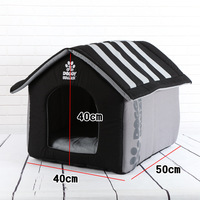 Big Size Soft Pet House Mat Winter Warm Nest Large Pet Cat Dog Puppy Kennel Bed Sofa Sleeping Bag House Puppy Cave Bed House