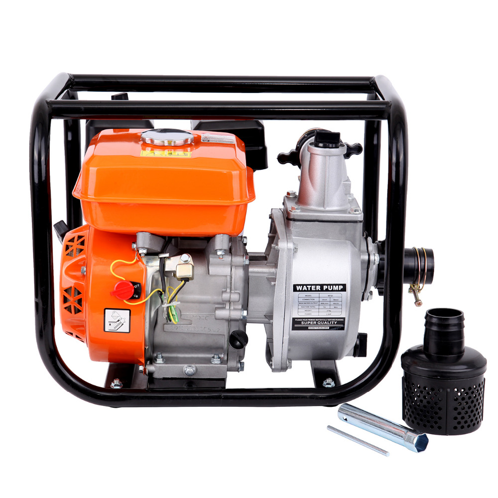 (Shipping From DE ) 4.0kW / 3600 / m gasoline water pump motor drainage pump pond pump garden pump