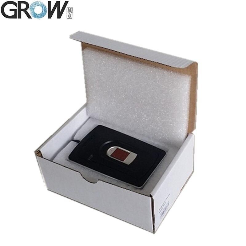 US $48 0 |GROW R101 Biometric Desktop Capacitive USB Fingerprint Access  Control Reader With Windows98,Me,NT4 0,2000,XP,Vista WIN7,Android-in