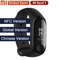 2018 New Multi Language Original Xiaomi Mi Band 3 Fitness Tracker 0.78 OLED Big touch Screen 2018 New Smart Wristbands Bracelet