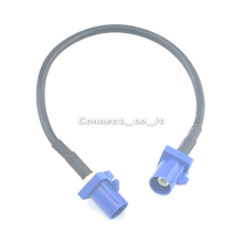 GPS Antenna Extension Cable Fakra C Plug to Male Plug Pigtail Cable RG174 15CM