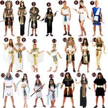 Pharaoh Egyptian Princess Cleopatra Halloween Cosplay Costume