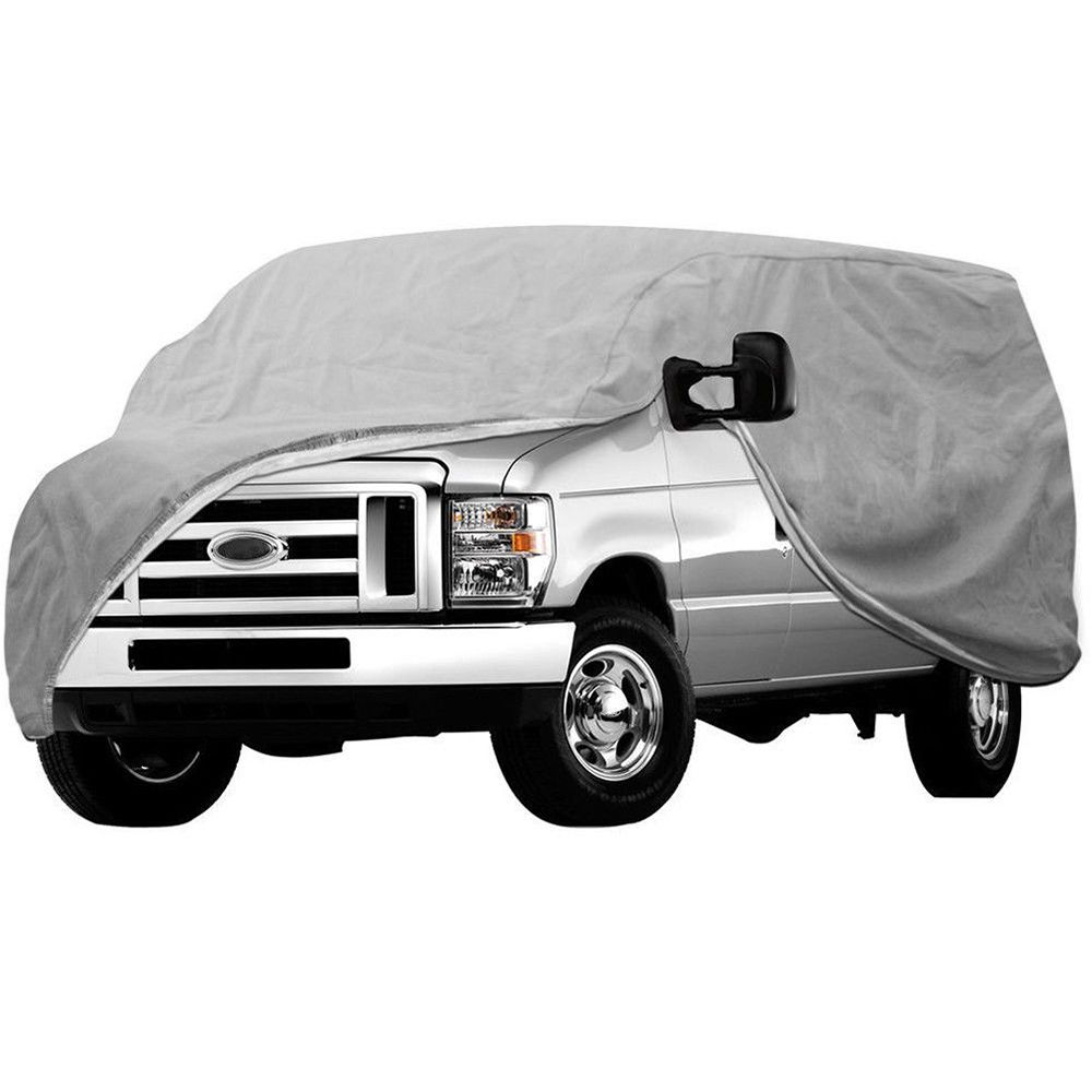 SEKINNEW SEKINNEW Universal Outdoor Car Cover Protector Scratch Dust Sun Rain Snow WaterProof Resistant Dust-proof Car Clothing
