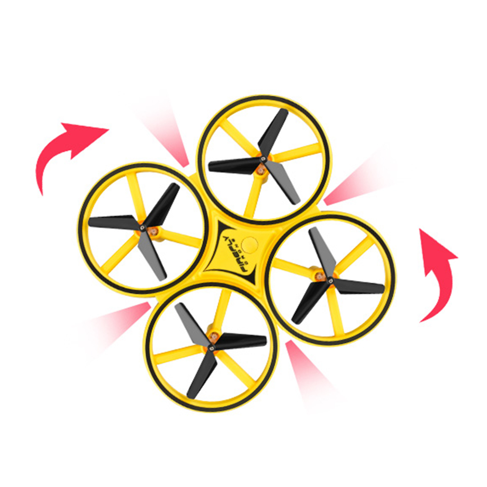 Anti collision LED Gravity Sensing Airplane Firefly Intelligent Remote Control Bright RC Quadcopter Aircraft Drone Accessories in Camera Drones from Consumer Electronics