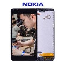 La Original Para Nokia Lumia 640 LCD de Pantalla Táctil con El Marco Para Nokia Lumia 640 Pantalla Digitalizador Asamblea piezas de Repuesto N640