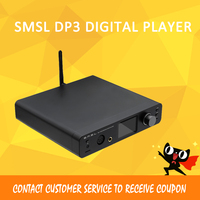 SMSL DP3 Multi Function Pure Digital Decoder USB DAC Coaxial Fiber DSD ES9018Q2C Chip DSD512 Hardware Decoding