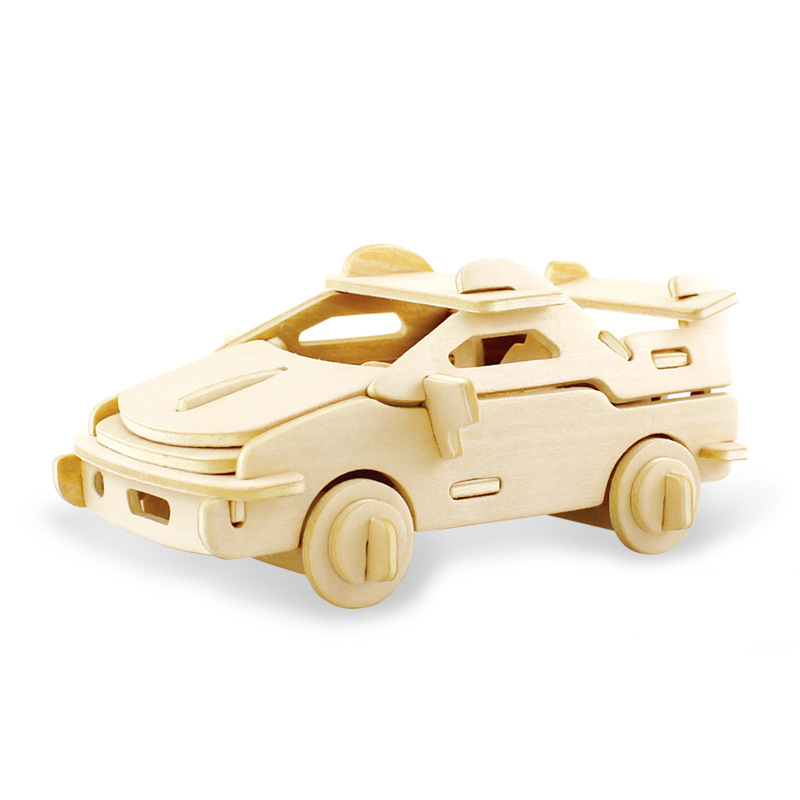 3D DIY Wood Puzzle Toy Military Series Tank Vehicle Model Set Creative Assembled Education Puzzle Toys Gifts For Children Kids 5