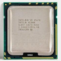 إنتل زيون X5670 المعالج إنتل X5670 CPU ستة النواة 2.93GHz LGA 1366 TDP 95W 12MB CPU الضمان 1 سنة مناسبة X58 motherbaord