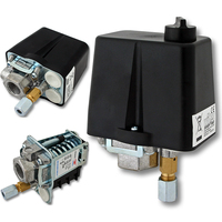 3 Phase 230V 400V 16A Pressure Switch For Compressor 90 120 PSI Air Compressors Pressure Switch