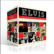 2017 Special Offer Free Shipping; New Year's Gift; Elvis Presley 20 Original Albums Complete Collection 20cd Christmas Gift Box