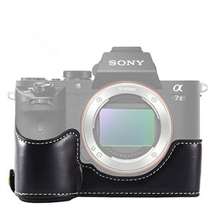 Image 3 - limitX Pu Leather Case Bottom Opening Version Protective Half Body Cover Base For Sony Alpha A7 III 3 / A7R III 3 Digital Camera