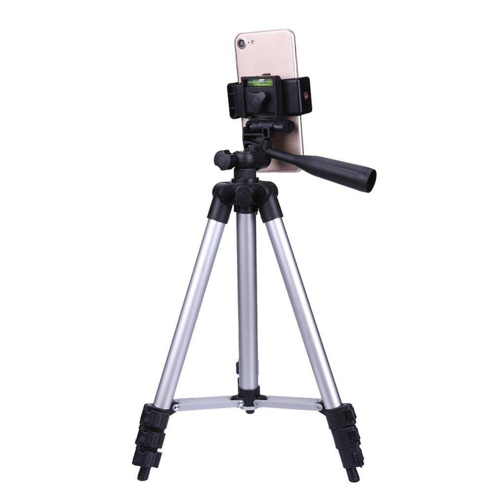 VODOOL 1PC 4Set di 105 centimetri Treppiedi di Macchina Fotografica Monopiede Supporto Del Telefono Mobile con il Sacchetto per DV Video Smart Phone treppiedi di macchina fotografica Del Supporto Del Supporto