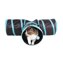 3 Ways Pet Foldable Toys Tunnel Tent Nest Toys Funny Y Shape Home Folding Training Tunnel Cats Toys