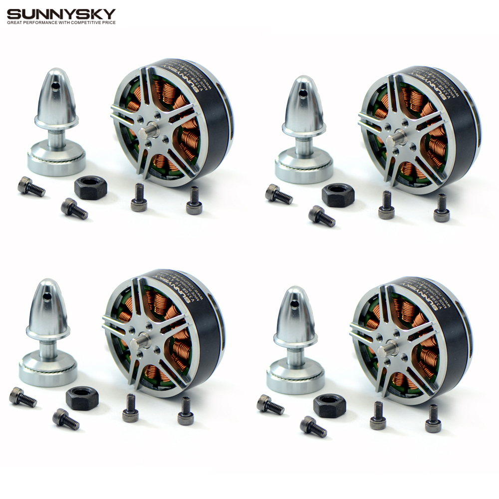 4set/lot Original SUNNYSKY V3508 380kv 580kv 700kv Brushless Motor for RC Multicopter цена 2017