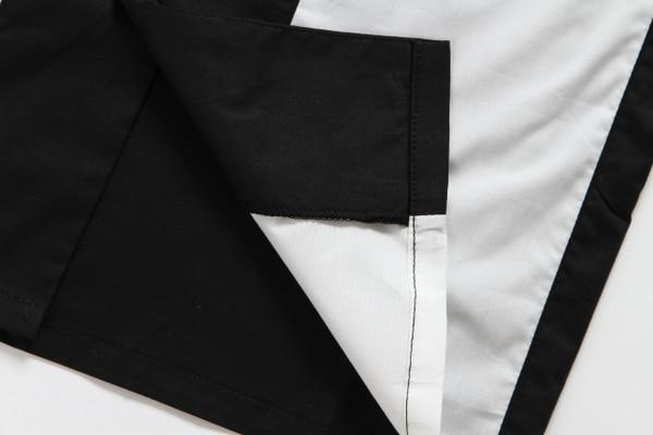 2019 Butoni i ri me mëngë të shkurtër të veshur me stil pambuku - Veshje për meshkuj - Foto 6