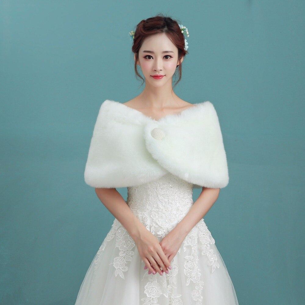 NZUK Hot Sale Cheap Fashion Wedding Jacket Bride Wraps Winter ...