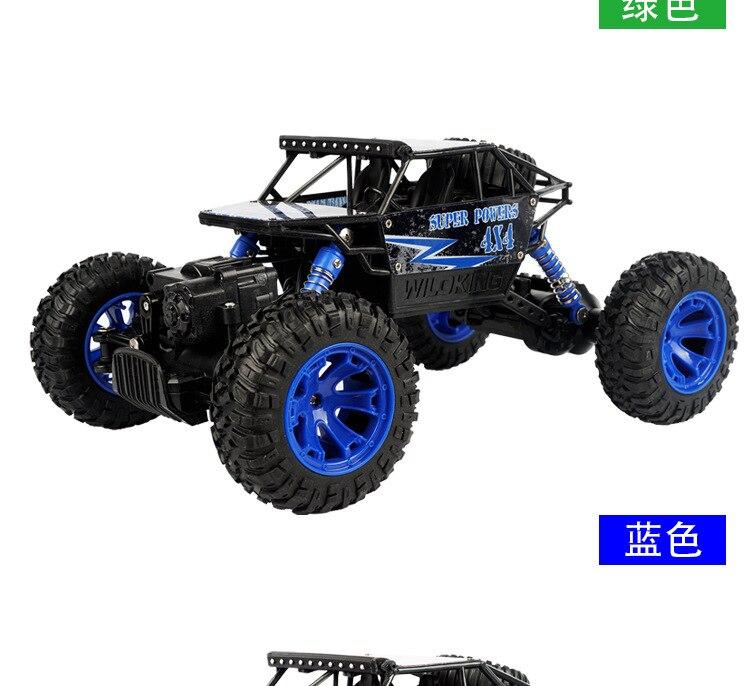 Hot Sale RC font b Car b font 2 4Ghz 4WD 1 18 4 Wheel Drive