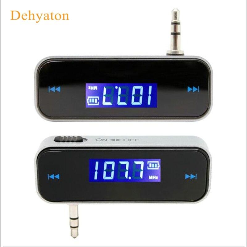 Купить автомобильный fm передатчик dehyaton для смартфона bluetooth