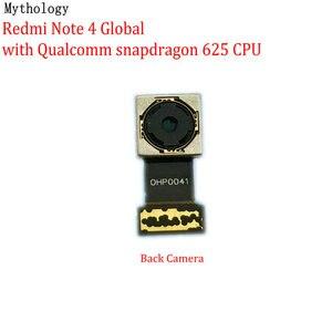 Image 1 - Mitologia dla Xiaomi Redmi Note 4 4X globalna wersja MTK duży aparat z tyłu moduł telefon komórkowy tylny przewód do aparatu wymiana kabla
