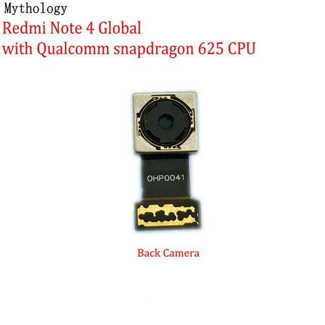 Mitologia dla Xiaomi Redmi Note 4 4X globalna wersja MTK duży aparat z tyłu moduł telefon komórkowy tylny przewód do aparatu wymiana kabla