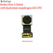 Mitologia para xiaomi redmi nota 4 4x global mtk versão grande voltar módulo de câmera do telefone móvel câmera traseira cabo flexível substituição