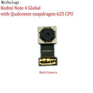 Image 1 - מיתולוגיה עבור Xiaomi Redmi הערה 4 4X הגלובלי MTK גרסה גדולה חזור מודול טלפון נייד אחורי מצלמה להגמיש כבל החלפה