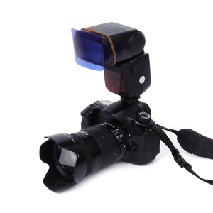 Image 5 - 20 Color Photographic Color Gel Filter Cards Set Flash Speedlite for Canon  10166