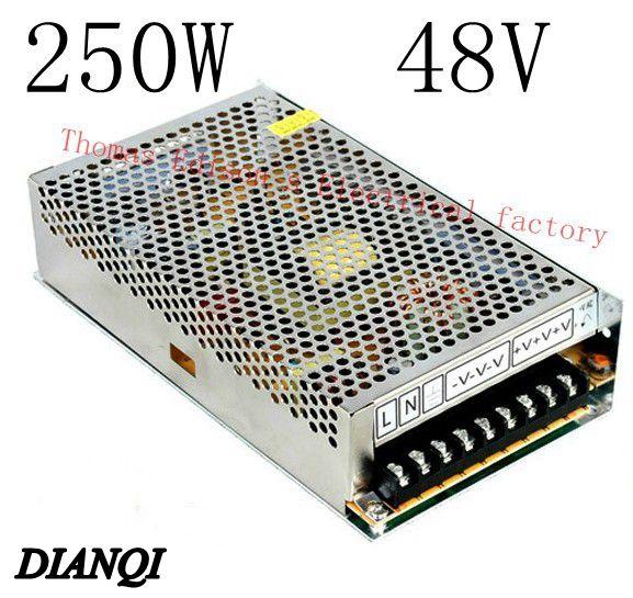 S-250-48 led power supply switch 250W 48v 5A ac dc converter S-250w 48v variable dc voltage regulator power supply unit led power supply switch 200w 12v 16 5a power supply unit ac dc converter s 200w 12v variable dc voltage regulator s 200 12