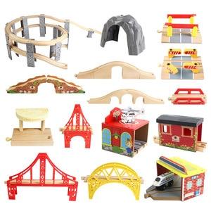 Wooden Rail Track Accessories