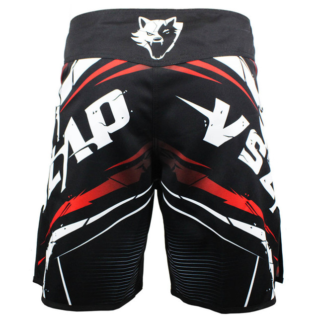 MMA Shorts Combat Wolf
