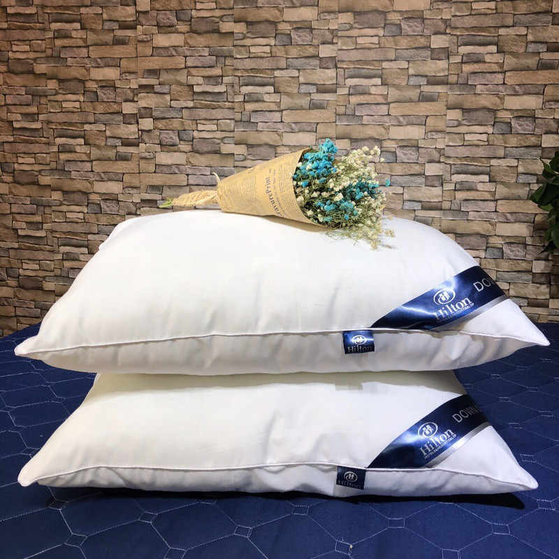 New Super soft pillow. Hotel pillows. Household pillows. Solid color pillows.Manufacturer sales.48x74cm