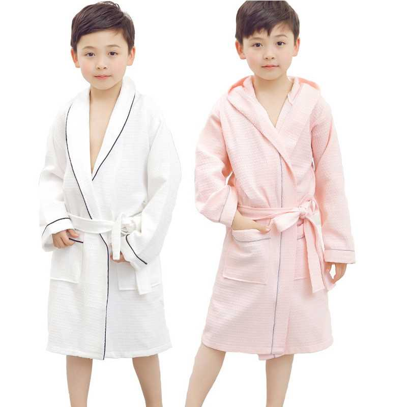 12735eb2cfb8 Detail Feedback Questions about Hooded Towel Child Bathrobe Kids ...