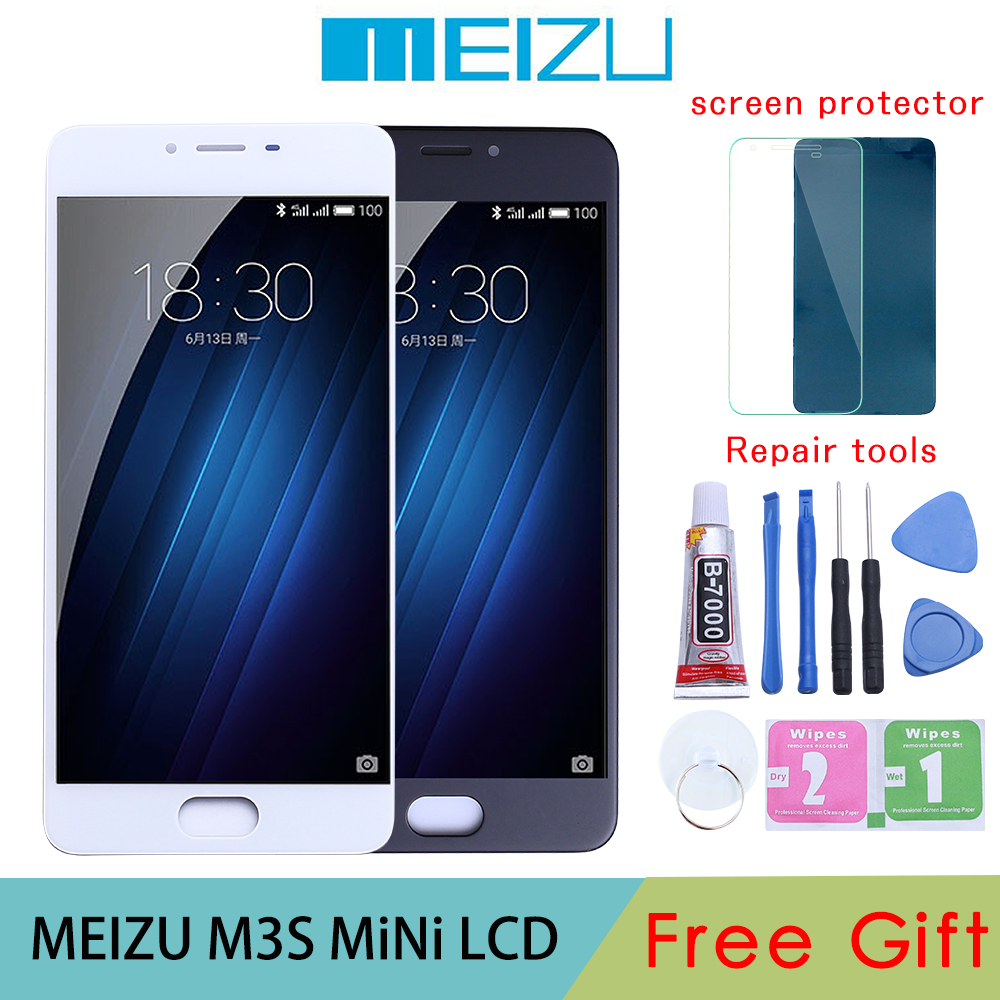 <font><b>Meizu</b></font> <font><b>M3S</b></font> LCD <font><b>Display</b></font> Touch Screen Digitizer Assembly For <font><b>MEIZU</b></font> <font><b>M3S</b></font> LCD With Frame <font><b>M3S</b></font> <font><b>mini</b></font> Y685H Y685Q Screen Replacement Parts image