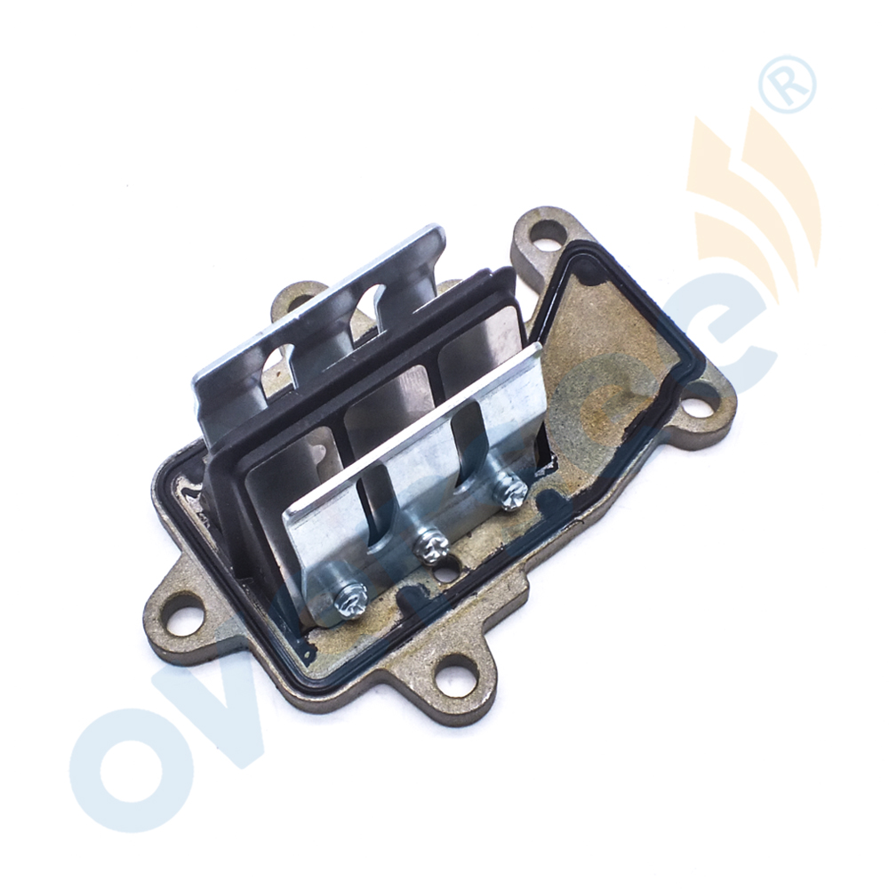 63W-13610-00 Reed Valve Assy Replaces For Yamaha Parsun Powertec 9 9HP 15HP  Outboard Engine,Boat Motor Aftermarket 63V-13610-00