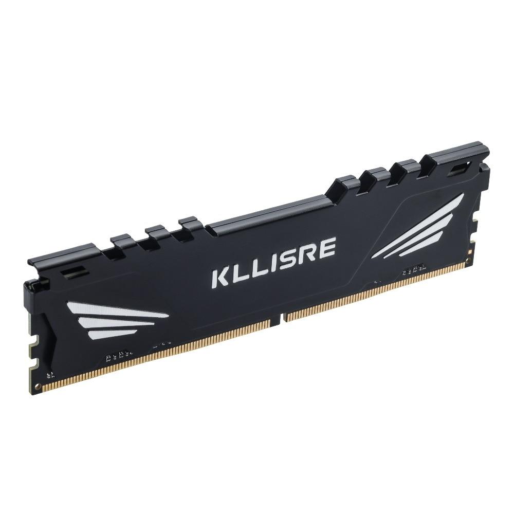 Kllisre Ram DDR3 4GB 8GB 1333 1600 1866 PC3 Memory 1.5V Desktop Dimm With Heat Sink