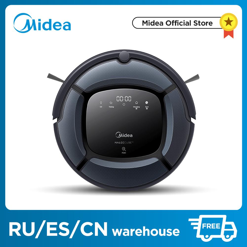 Midea Smart Robot Vacuum Cleaner MR04 03 2in1 for Vacuum Mop Powerful Suction UV Lamp with